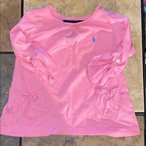 Ralph Lauren Pink Detailed Top